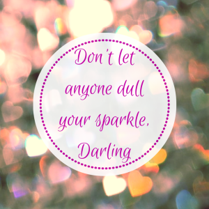 dull sparkle