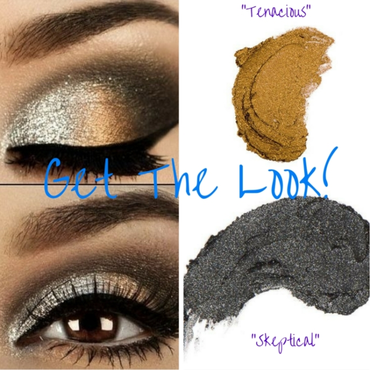 How gorgeous is this? Re-create this look using Younique Splurge Cream Eyeshadows in colors Tenacious and Skeptical. Smudge a black liner on your upper and lower lashlines and finish with a coat of 3D Fiber Lash Mascara.