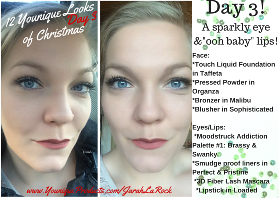 The 12 Looks Of Christmas Younique Style Blushes Brushes Barbells